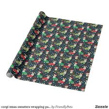 corgi wrapping paper corgi sweaters wrapping paper dogs and cats