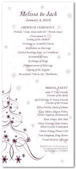 christmas wedding programs printable christmas tree wedding program template
