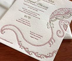 south asian wedding invitations indian elephant letterpress wedding invitation by invitations by