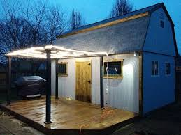 Ultimate Man Cave Barn Meets Bar And Becomes The Ultimate Man Cave Backyard Pub