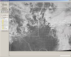 New Mexico Weather Map by Storm Forecast Simulator Weather Graphics