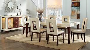 Glass Top Dining Room Table Sets With Chairs - Living room sets rooms to go