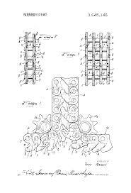 patent us3645146 interlocking chain structure google patents