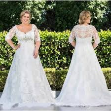 sleeve lace plus size wedding dress cheap plus size wedding dress a bridal trendy ideas