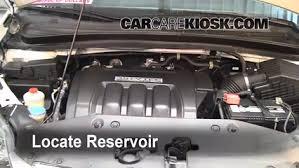 2007 honda odyssey power steering check windshield washer fluid honda odyssey 2005 2010 2007
