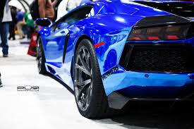 blue chrome lamborghini sema 2013 chrome blue lamborghini aventador on pur wheels gtspirit