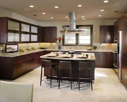 Dark Floor Kitchen by Dark Cabinets With Tile Floor Houzz