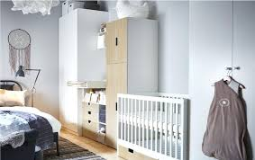 Cot Changing Table Idea Ikea This Nursery Idea Places A Cot Changing Table And Babies