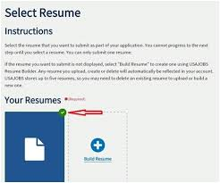 Usajobs Resume How To Apply