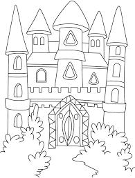 Princess Castle Coloring Page Free Castle Coloring Pages Princess Coloring Pages Castles