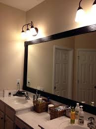 Wood Framed Bathroom Vanity Mirrors by Vanities Large Vanity Mirrors Vanity Bathroom Mirror With Lights