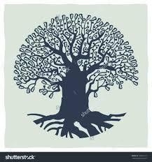Oak Tree Drawing Drawing Of An Oak Tree Drawing Art Library