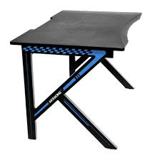Ergonomic Gaming Desk by Akracing Gaming Desk Blue Akracing Usa