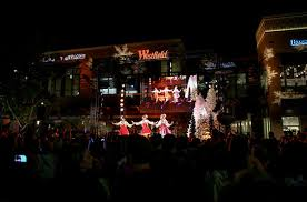 westfield lighting westfield in beverly belles photos photos holiday tree lighting at the village