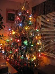 Seeking Tinsel 50 S Tree With Lights Tree 60 S And
