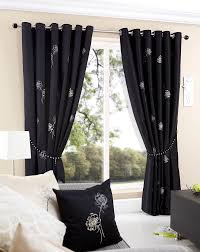 Living Room Curtain Ideas by Decorations Breathtaking Black Color Living Room Curtain Ideas