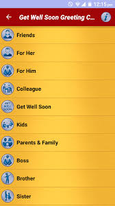 cards for sick friends get well soon greeting cards android apps on play