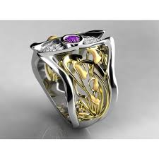 one mothers ring nouveau inspired one birthstone mothers ring with diamond