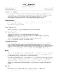 Banker Resume Private Banker Resume Sample Commercial Banking Manager Private
