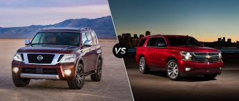 nissan armada crash test 2017 nissan armada vs 2017 chevy tahoe