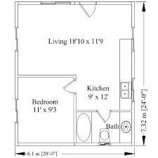 20x24 Guest House With Loft Google Search Sw Bungalo 20x20 Home Plans