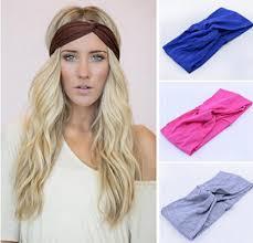 knot headband 2018 twist knot headband stretch lycra brand turban hair band