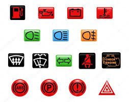 Engine Lights Check Engine Light Stock Vectors Royalty Free Check Engine Light