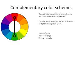 Color Wheel Scheme The Color Wheel And Color Schemes Additive Color Ppt