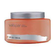 shop valspar terra cotta red interior satin paint sample actual