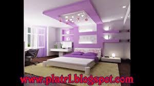 chambre à coucher décoration decoration platre plafond chambre a coucher