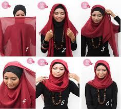 tutorial jilbab ala ivan gunawan 30 foto tutorial hijab ala ivan gunawan terupdate