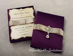 carlton invitations such a beautiful invitation box plum and gold the