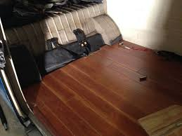 Next Laminate Flooring Just Finished Installing The Wood Floors In My Vw Bus Next Is The