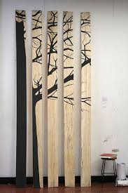 painted wood artwork best 25 plywood ideas on wooden planks on wall