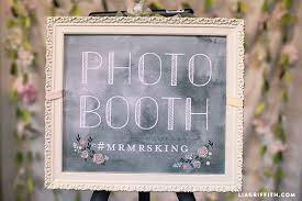 wedding backdrop sign diy wedding photo booth