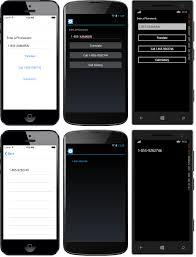 Appphotoforms Xamarin Forms Multiscreen Quickstart Xamarin