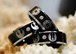 wars wedding ring geeky yet affordable wedding rings youbentmywookie