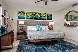 tableau d oration chambre adulte tableau décoratif à motifs maritimes tapis bleu multicolore et