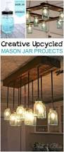 Diy Light Fixtures How To Make A Mason Jar Chandelier Mason Jar Chandelier Jar