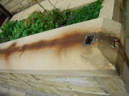 Remove Rust From Metal Furniture by Rust Removal From Stone Remove Rust Stains Youtube