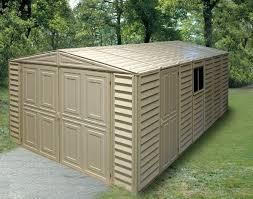 Backyard Storage Solutions Vinyl Garages Barnstable Garden Sheds Plastic Outdoor Storage