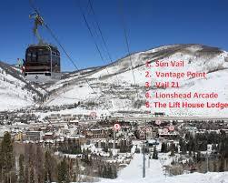 Ski Resorts Colorado Map by Vail Resort Rentals Condo Locations Map For Vail Colorado