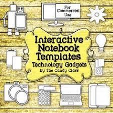 interactive notebook clipart clipartxtras