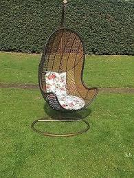 Patio Egg Chair Tinkertonk Rattan Swing Chair Patio Garden Wicker Hanging Egg