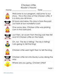 free gentle version chicken reader u0027s theater script tpt