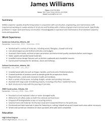 Got Resume Builder Carpenter Resume Resume For Your Job Application