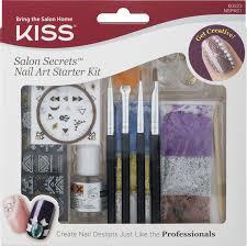 kiss salon secrets nail art starter kit 1 0 kit walmart com