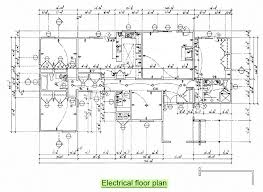 electrical floor plan drawing arc261 construction drawing