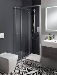 edge infold shower door in infold door luxury bathrooms uk