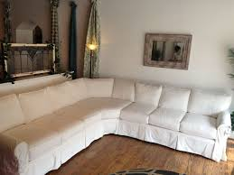 Slipcover Sofa Pottery Barn by Furniture How To Make Slipcover Sectional Design For Your Home